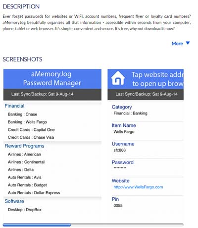 App Store Screen shots